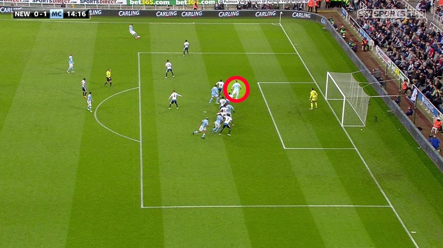 Sergio Aguero was offside for the opening goal