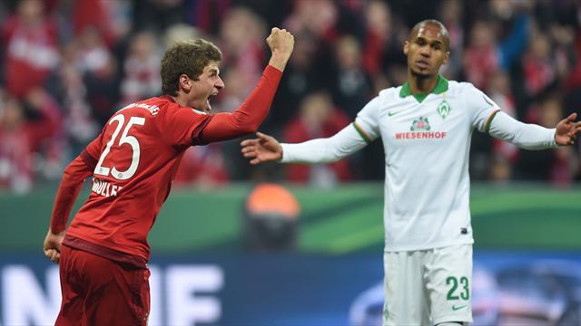 Müller hausse le ton et envoie le Bayern en finale