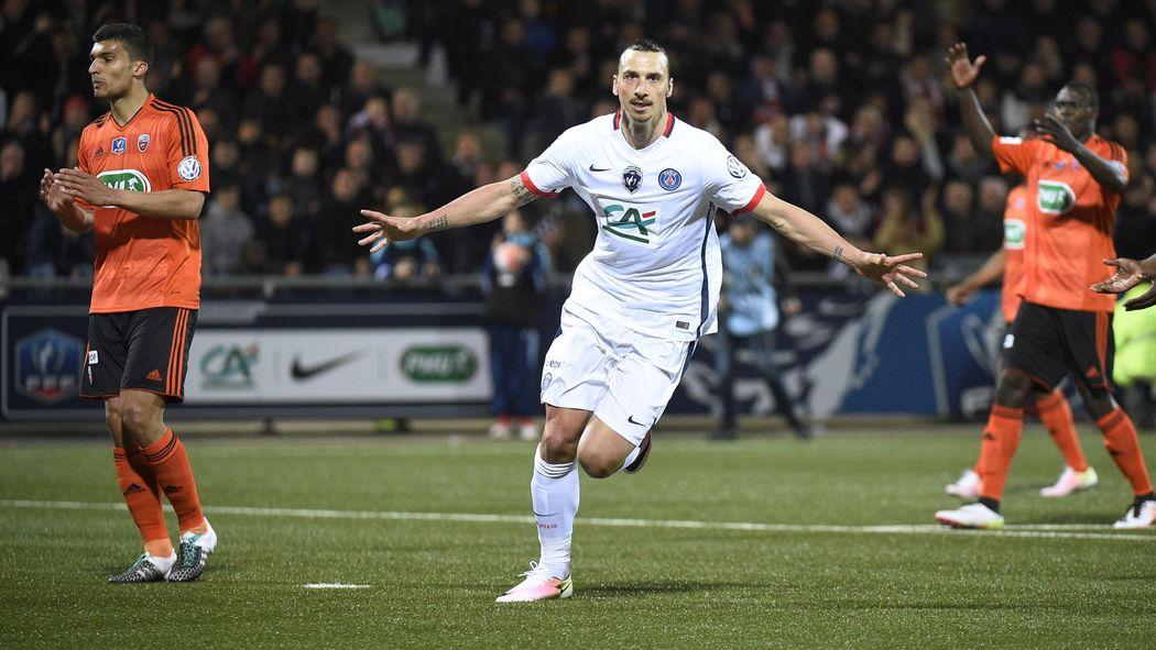 ไฮไลท์  Lorient 0 - 1 Paris Saint Germain