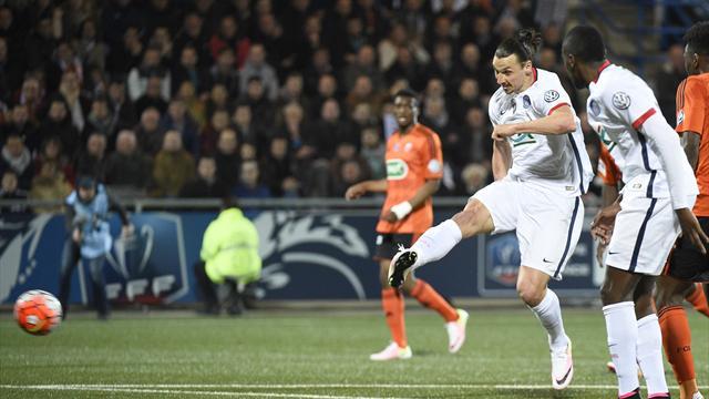 Et Zlatan a encore joué les sauveurs : Le résumé de Lorient – PSG
