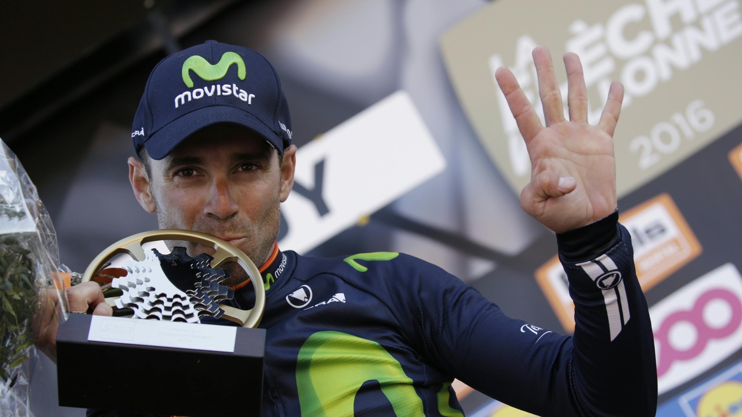Alejandro Valverde, quadruple vainqueur de la Flèche Wallonne