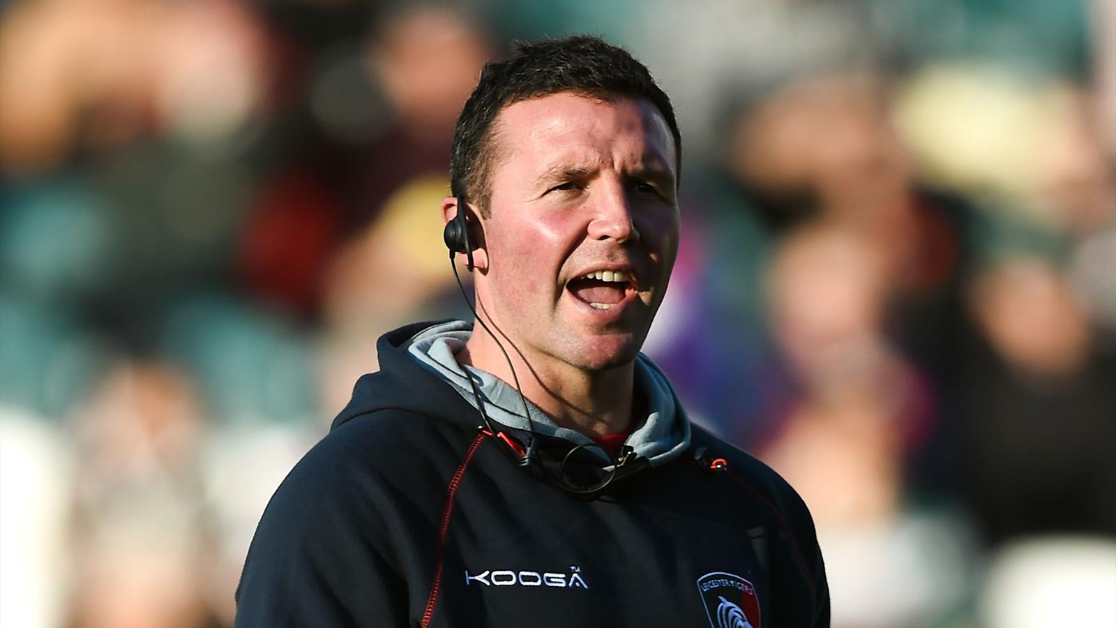 Aaron Mauger, le coach de Leicester