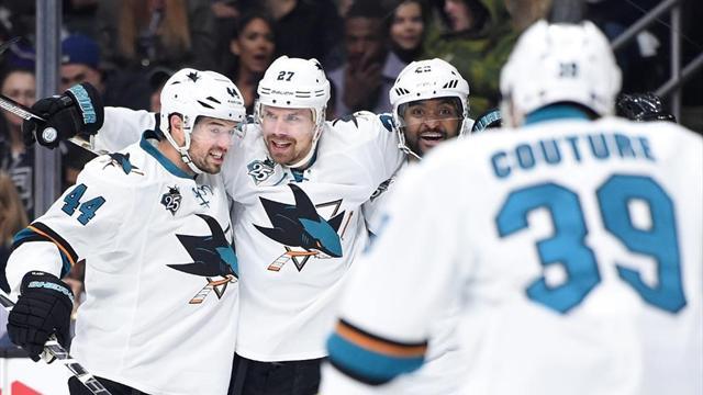 La prima volta degli Sharks: serie riaperta