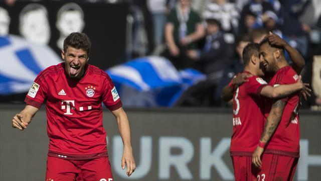 Le Bayern gagne mais Dortmund retarde son sacre