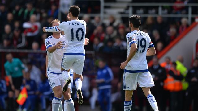 Il n'avait pas marqué de la saison, Hazard s'est offert un doublé pour son retour