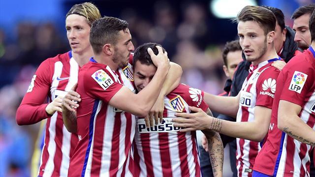 Même dans un jour sans, l'Atlético a assuré l'essentiel