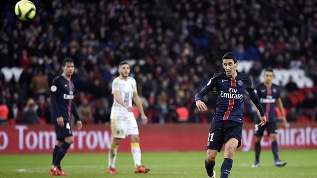 «Пари Сен-Жермен» выиграл Кубок Французской лиги, доигрывая матч в меньшинстве