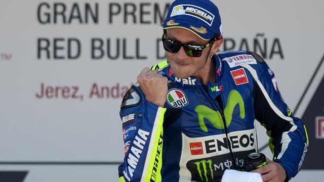 Росси одержал первую в сезоне победу на Гран-при Испании