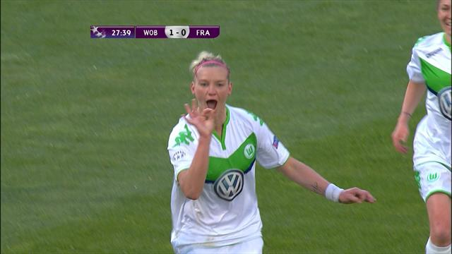 Wolfsburg hammer Frankfurt in women's Champions League semi-final first leg
