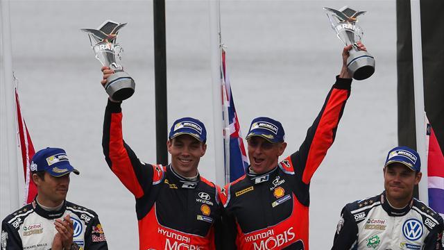 Паддон одержал первую победу в WRC