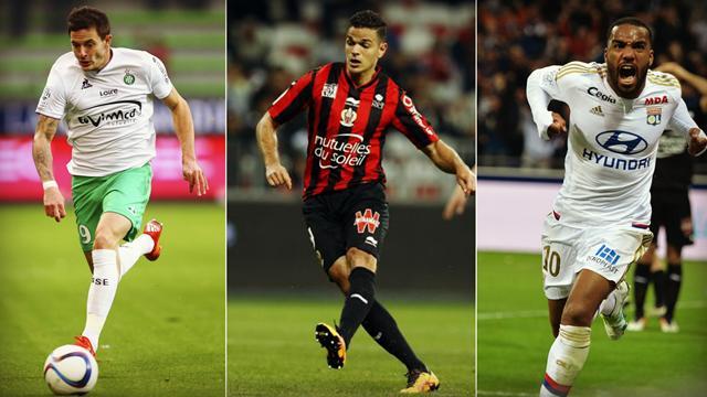 Roux, Ben Arfa, Lacazette : Votez pour le meilleur joueur de la 35e journée de L1