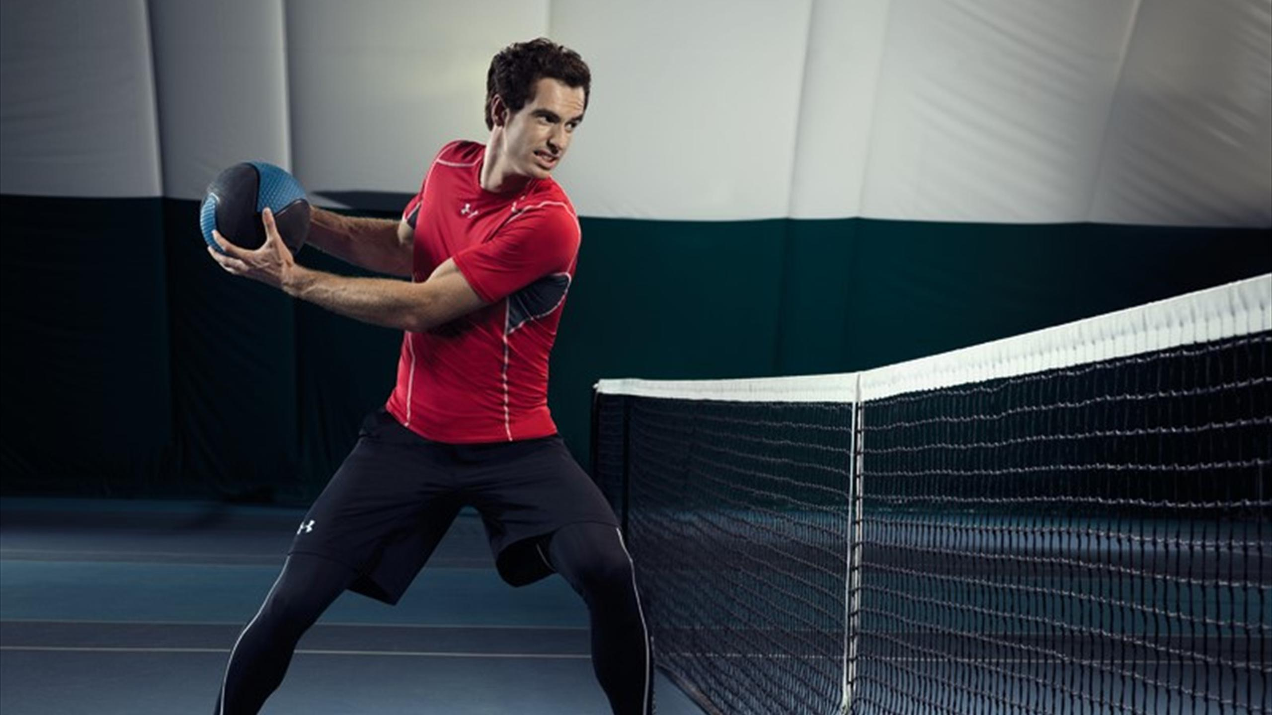 andy murray under armour clothing