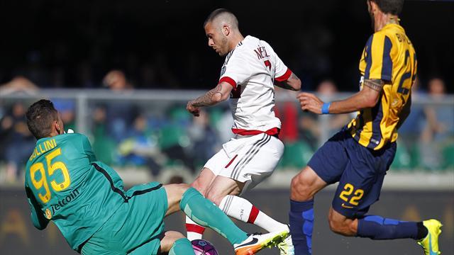 Le pagelle di Verona-Milan 2-1 - Serie A 2015-2016 ...