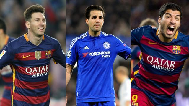 A défaut de compter sur Neymar, Messi et Suarez peuvent s'appuyer sur Fabregas
