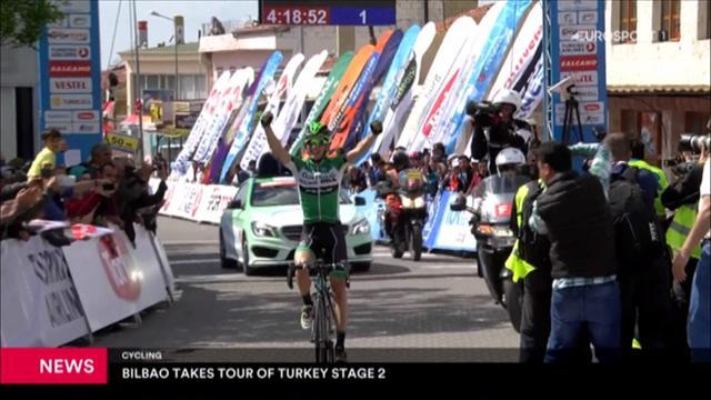 Türkei-Rundfahrt: Bilbao gewinnt 2. Etappe