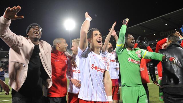 Après Dijon, Nancy peut fêter son retour en Ligue 1