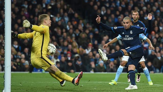 Si City n'a pas perdu, il le doit à Hart et cet arrêt fantastique devant Pepe