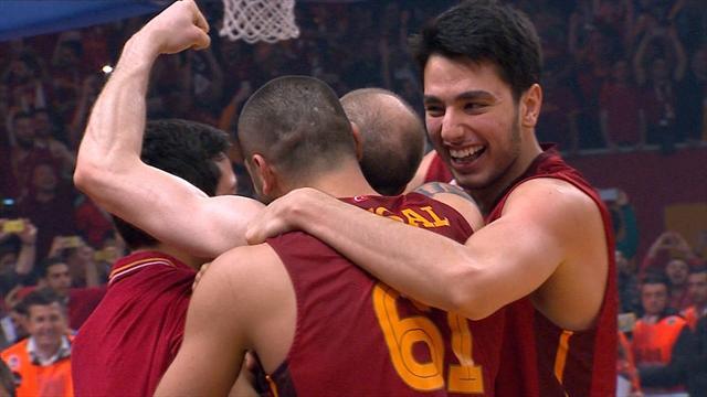 Galatasaray win Eurocup crown