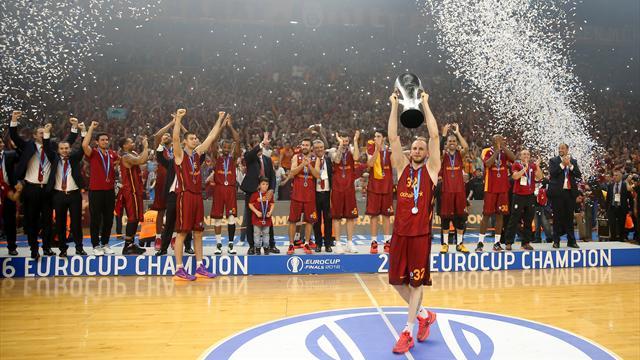 Galatasaray'ın Eurocup zaferindeki serüveni...