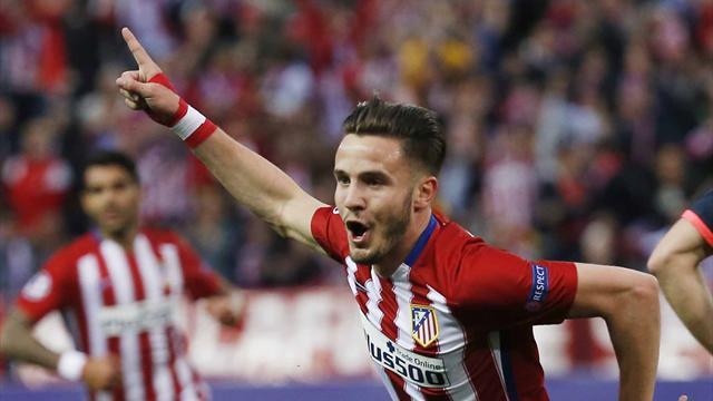 Costaud et inspiré, l'Atlético frappe le premier