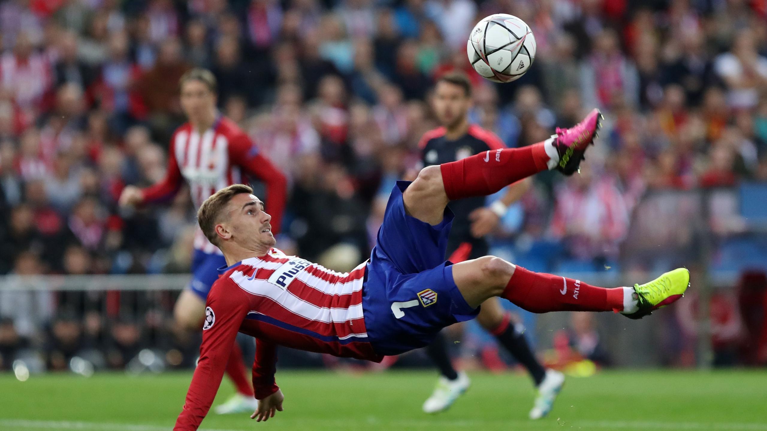 Griezmann (Atlético) face au Bayern