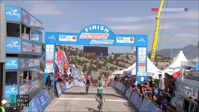Türkei-Rundfahrt: Das Finale der Bergankunft auf der 6. Etappe
