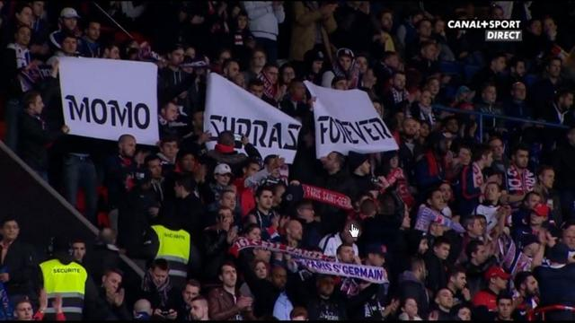 Le Parc des Princes a rendu hommage à Momo, fidèle supporter du PSG