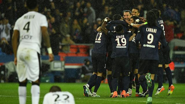 Le PSG s'offre une soirée tranquille et un nouveau record