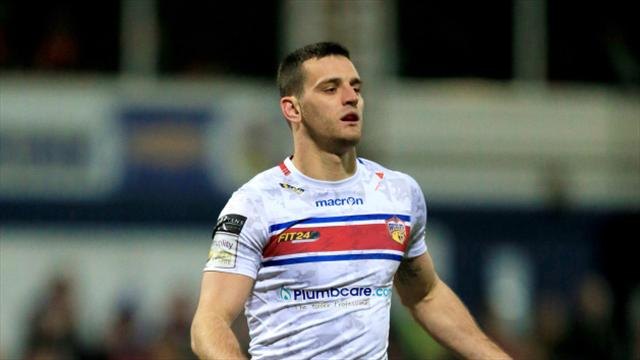 Wakefield late show sinks Widnes in bad-tempered match