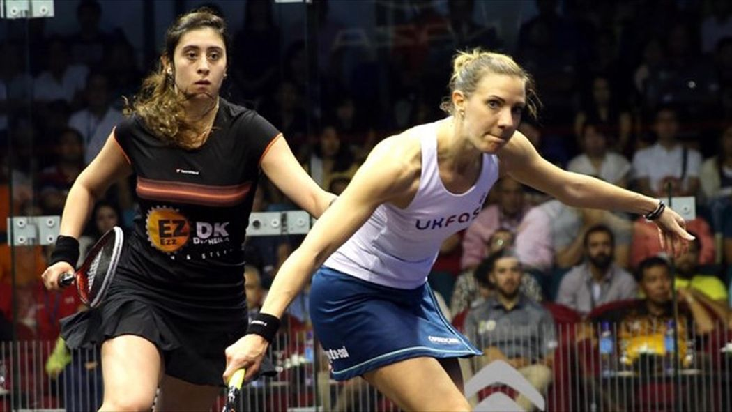 Nour El Sherbini becomes youngest World Squash Champion