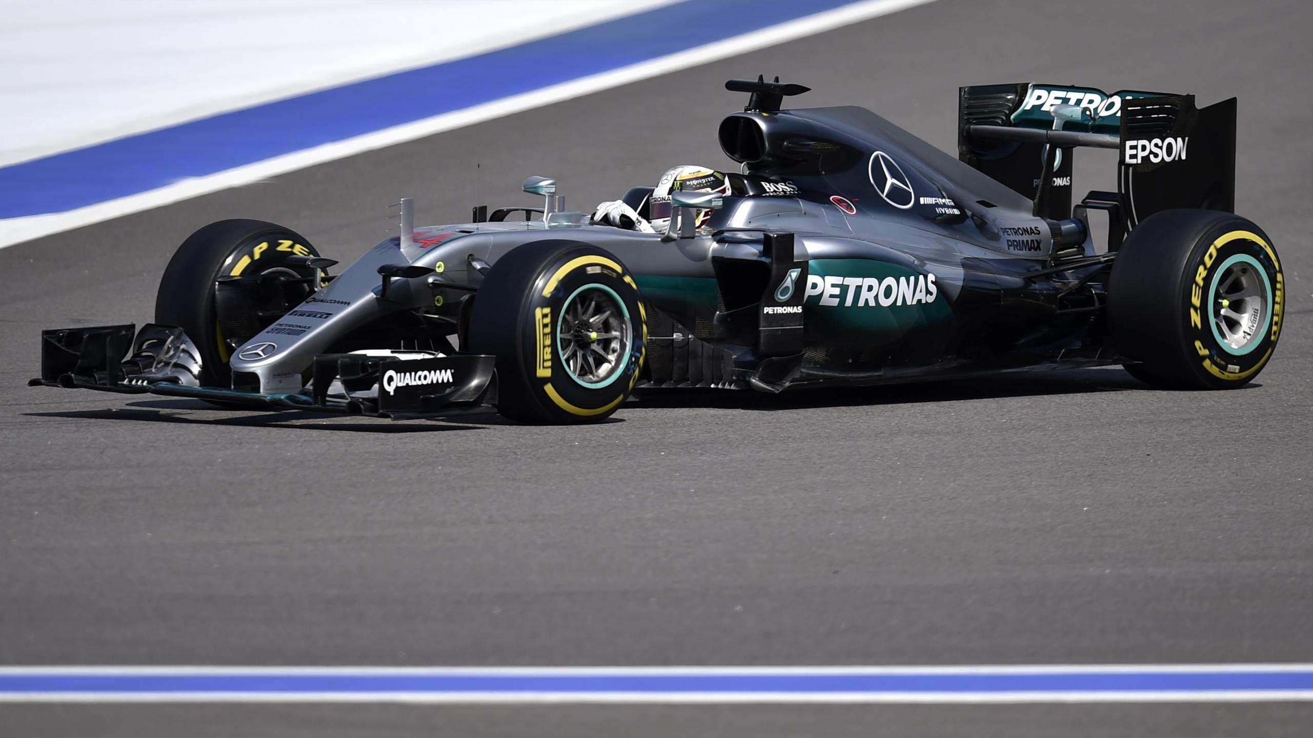 Lewis Hamilton (Mercedes) - GP of Russia 2016