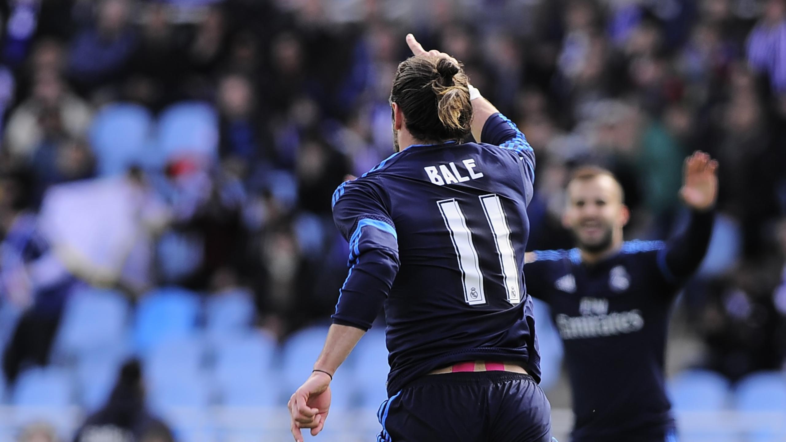 Gareth Bale a donné la victoire au Real face à la Real Sociedad