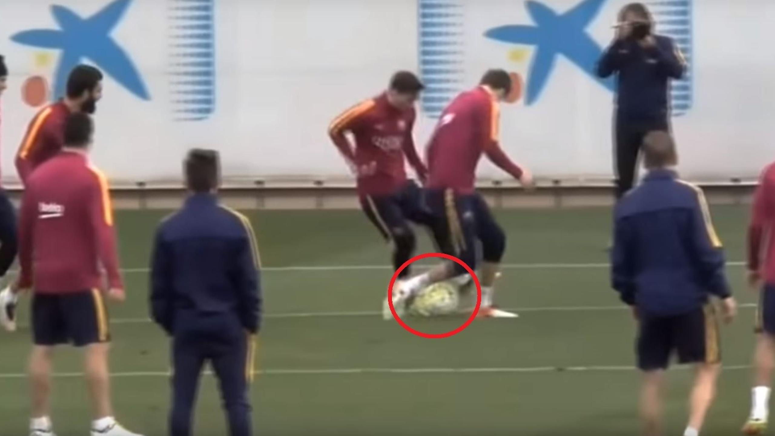 Barcellona Messi Piqué Liga 2015-2016