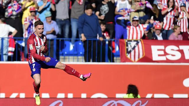 Un ballon a suffi à Griezmann pour libérer l'Atlético