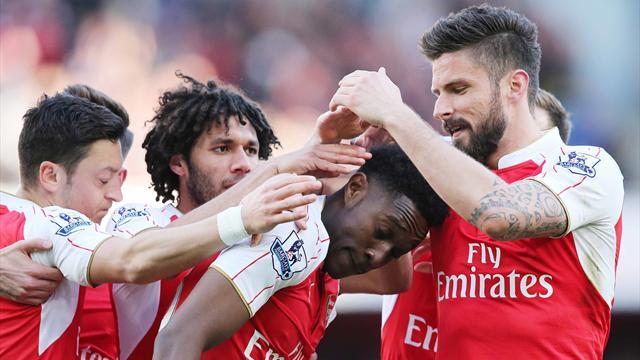 Arsenal se rapproche (quand même) de la Ligue des champions