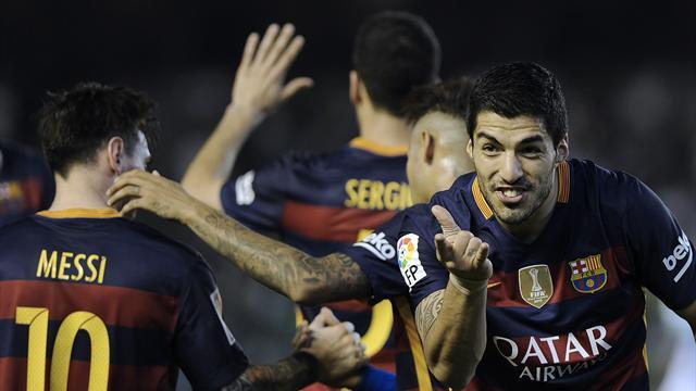 Le Barça n'a pas été brillant mais il reste le patron