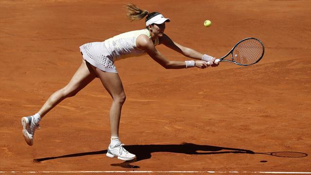 Garbiñe Muguruza se deshace de Jelena Ostapenko y se mete en cuartos del WTA Roma (1-6 y 4-6)