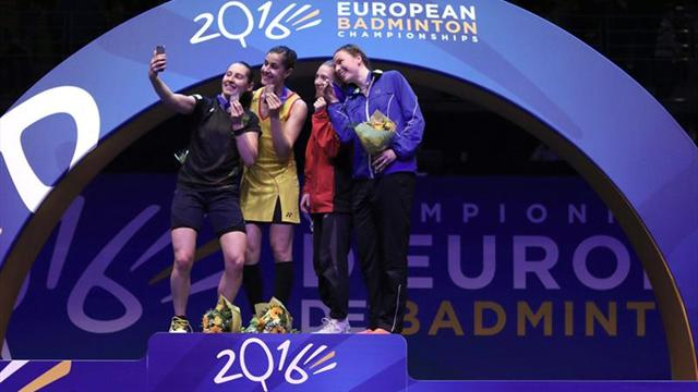 Carolina Marín revalida su corona europea