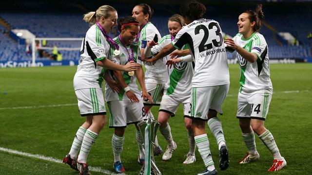 Frauen-Fußball: Der VfL Wolfsburg schlägt den 1. FC Köln und ...