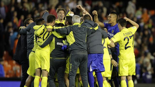 Villarreal jouera (au moins) les barrages de C1, Bilbao renverse Vigo