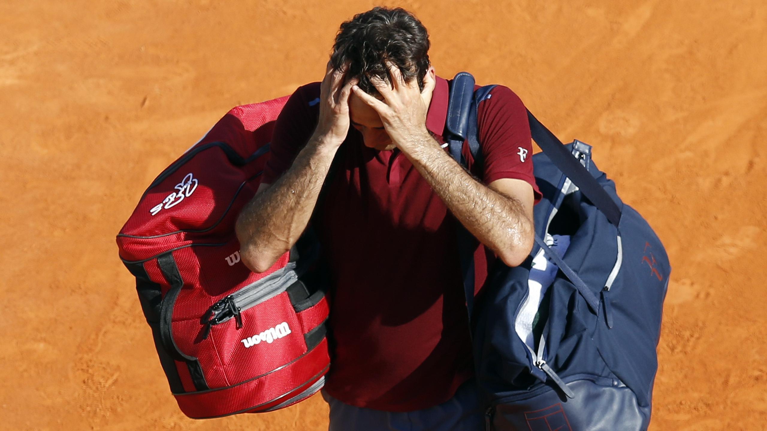 Roger Federer est forfait à Madrid
