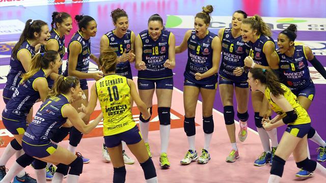 Conegliano ha le mani sulla regular season: sconfitta Montichiari e più 10 su Casalmaggiore