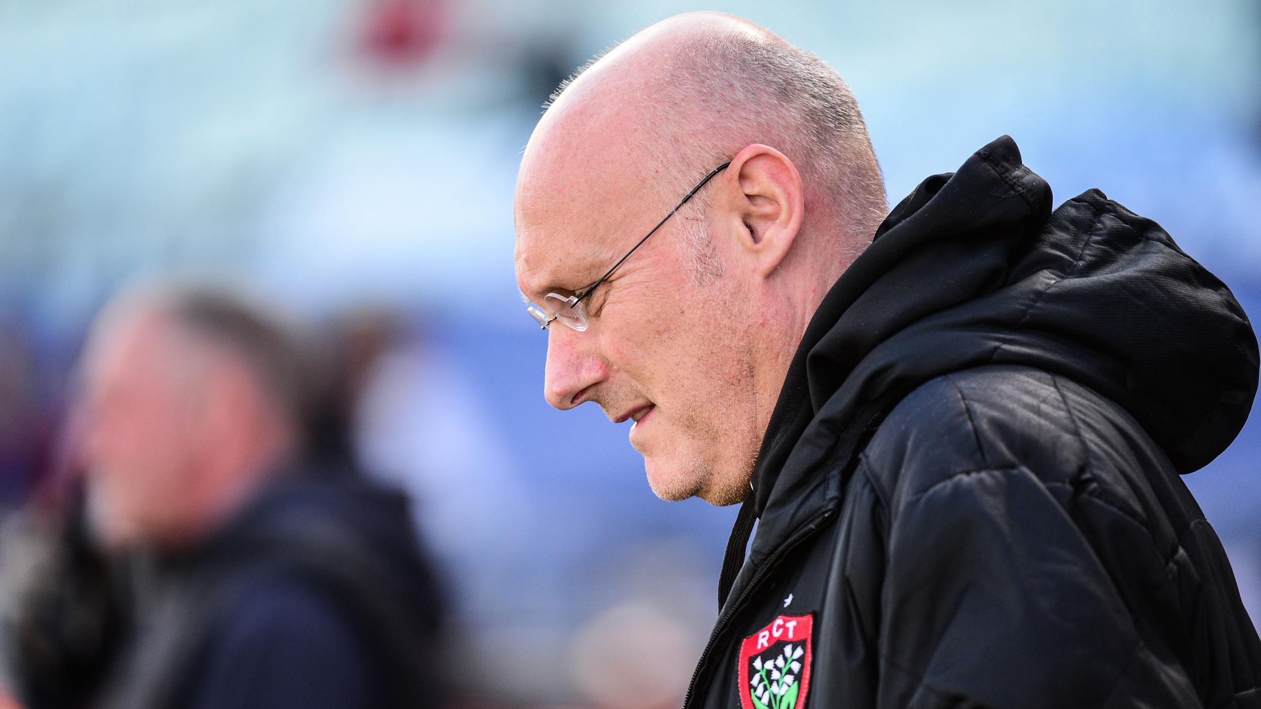 Bernard Laporte, le manager de Toulon - Avril 2016