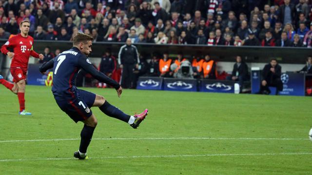 Plein de sang-froid et de talent, Griezmann envoie l'Atlético en finale : son but en vidéo