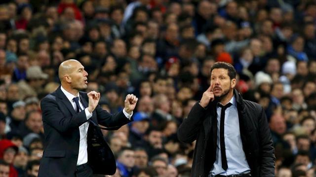 Zidane contre Simeone, c'est toute une histoire