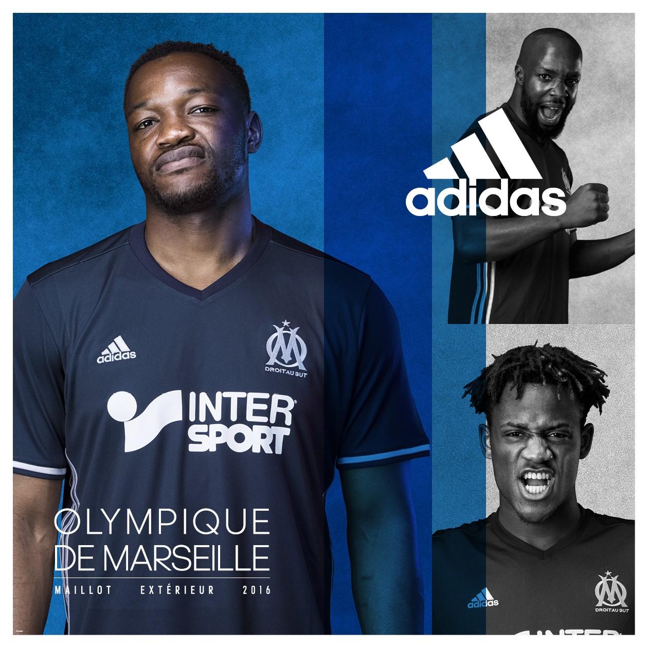 Maillot THIRD Olympique de Marseille ÉQUIPE