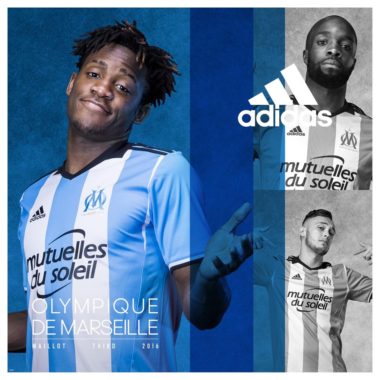 Maillot THIRD Olympique de Marseille 2017