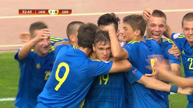 Yanakov scores opening goal against Germany