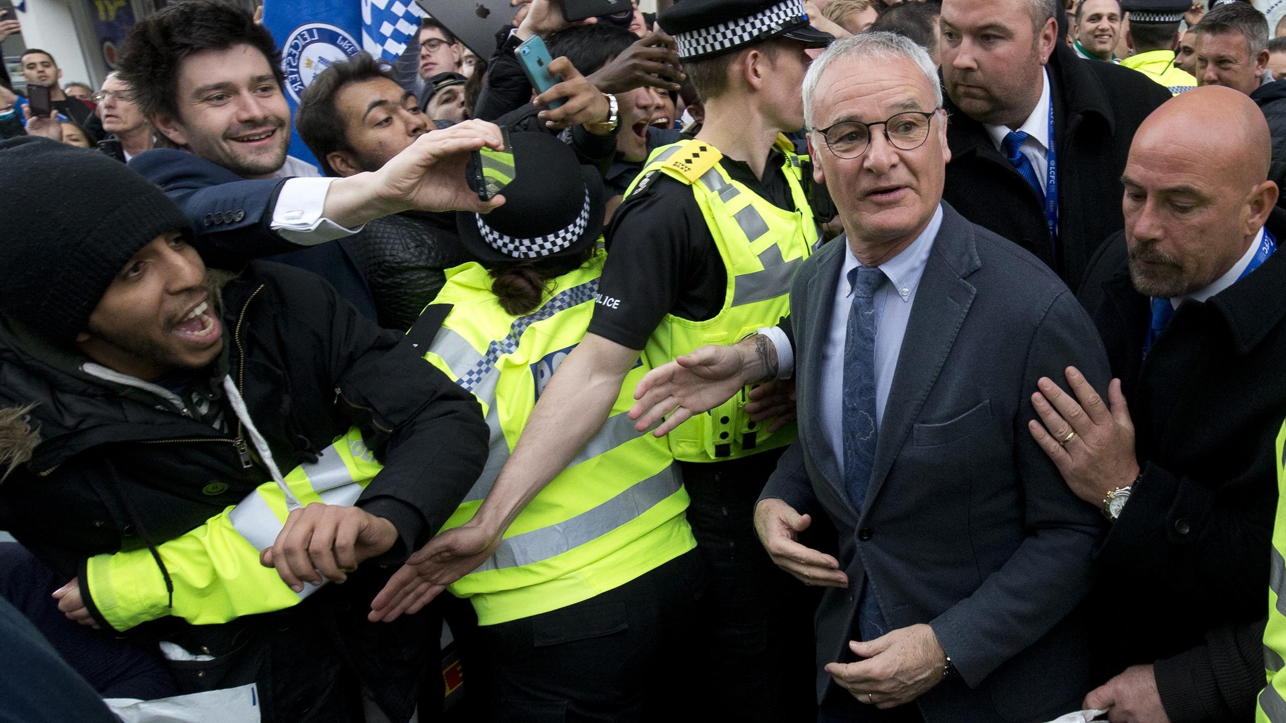 Claudio Ranieri, champion d'Angleterre avec Leicester