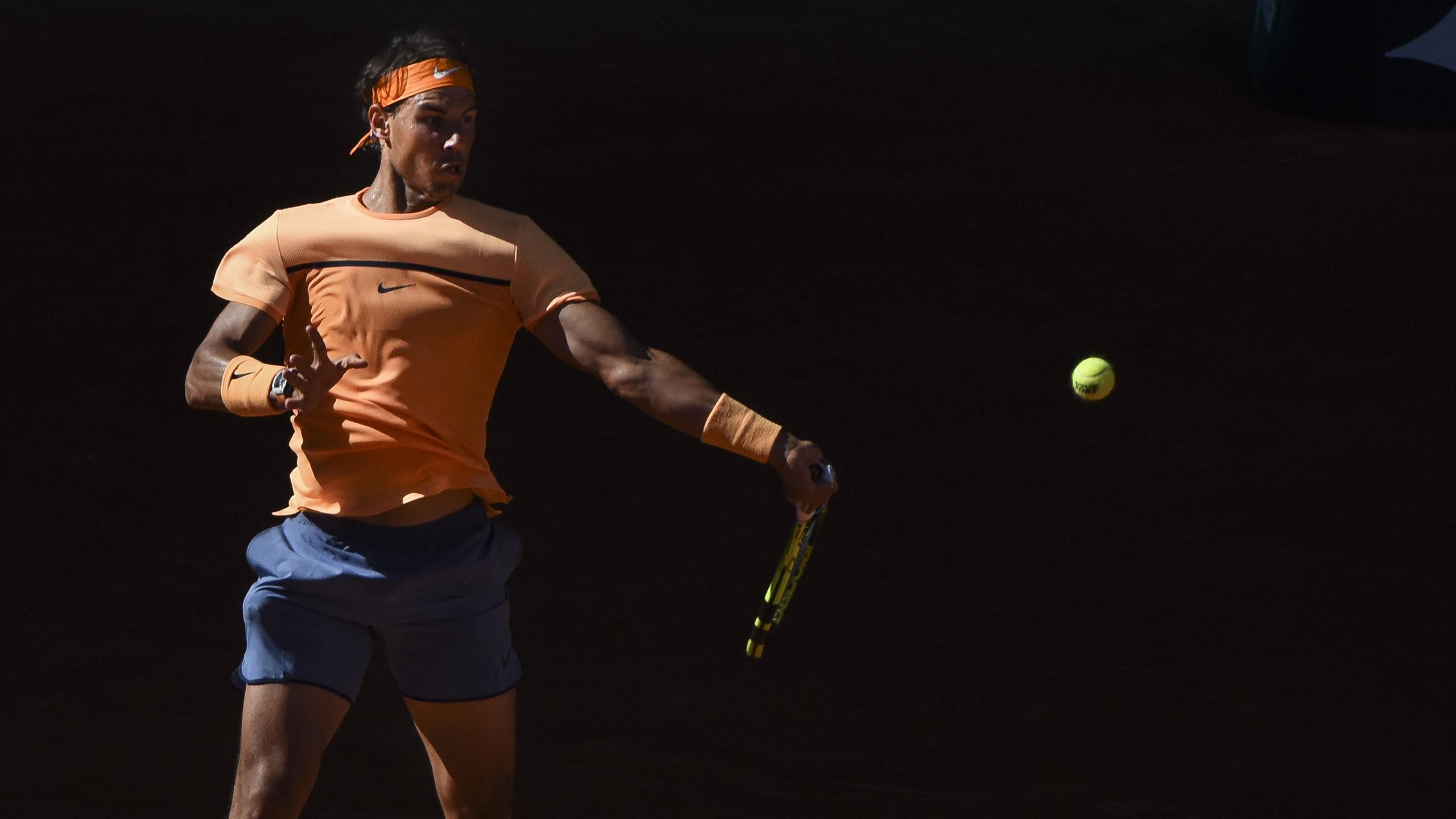 Rafael Nadal au Masters de Madrid